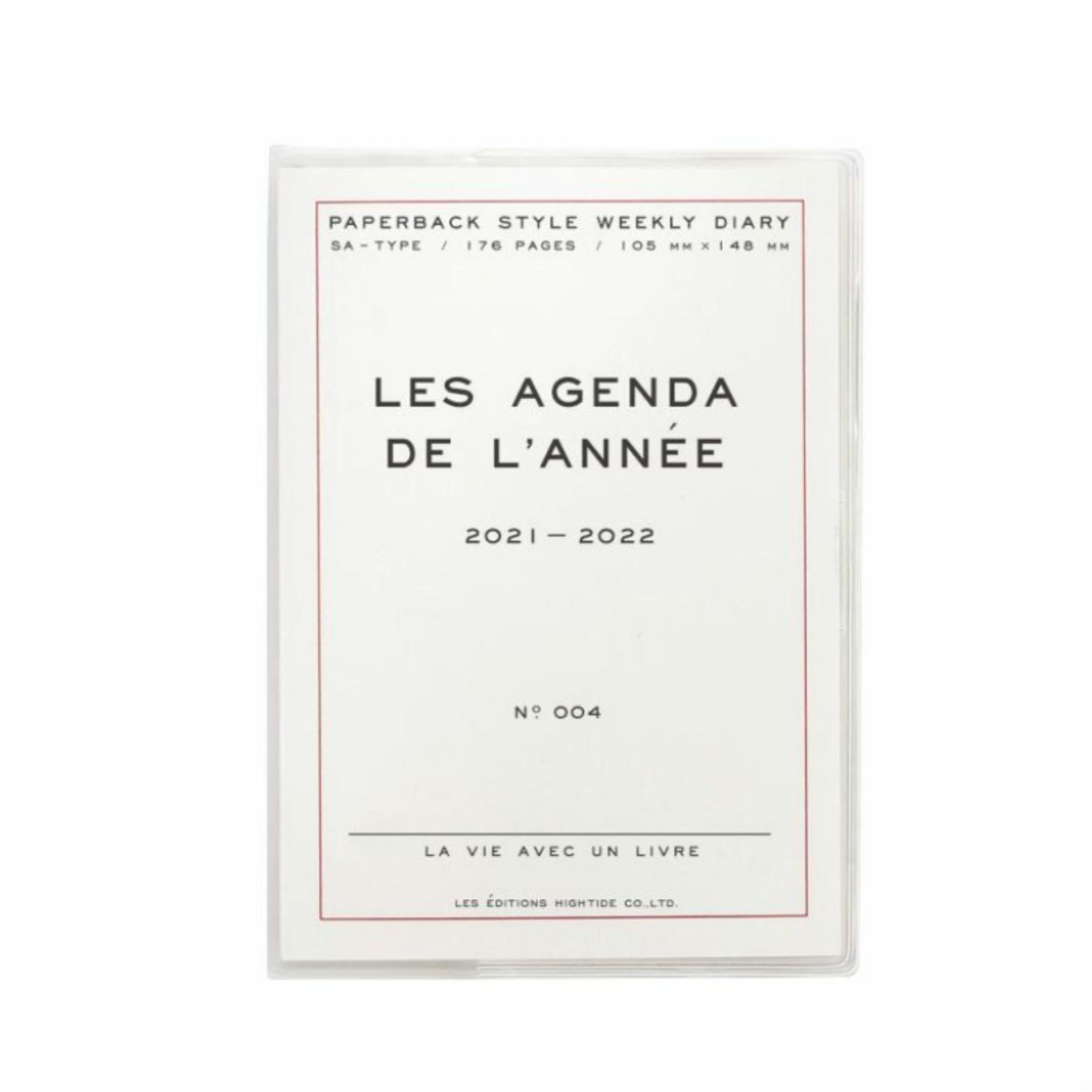 hightide / penco hightide 2022 les agenda de  l'année - wit