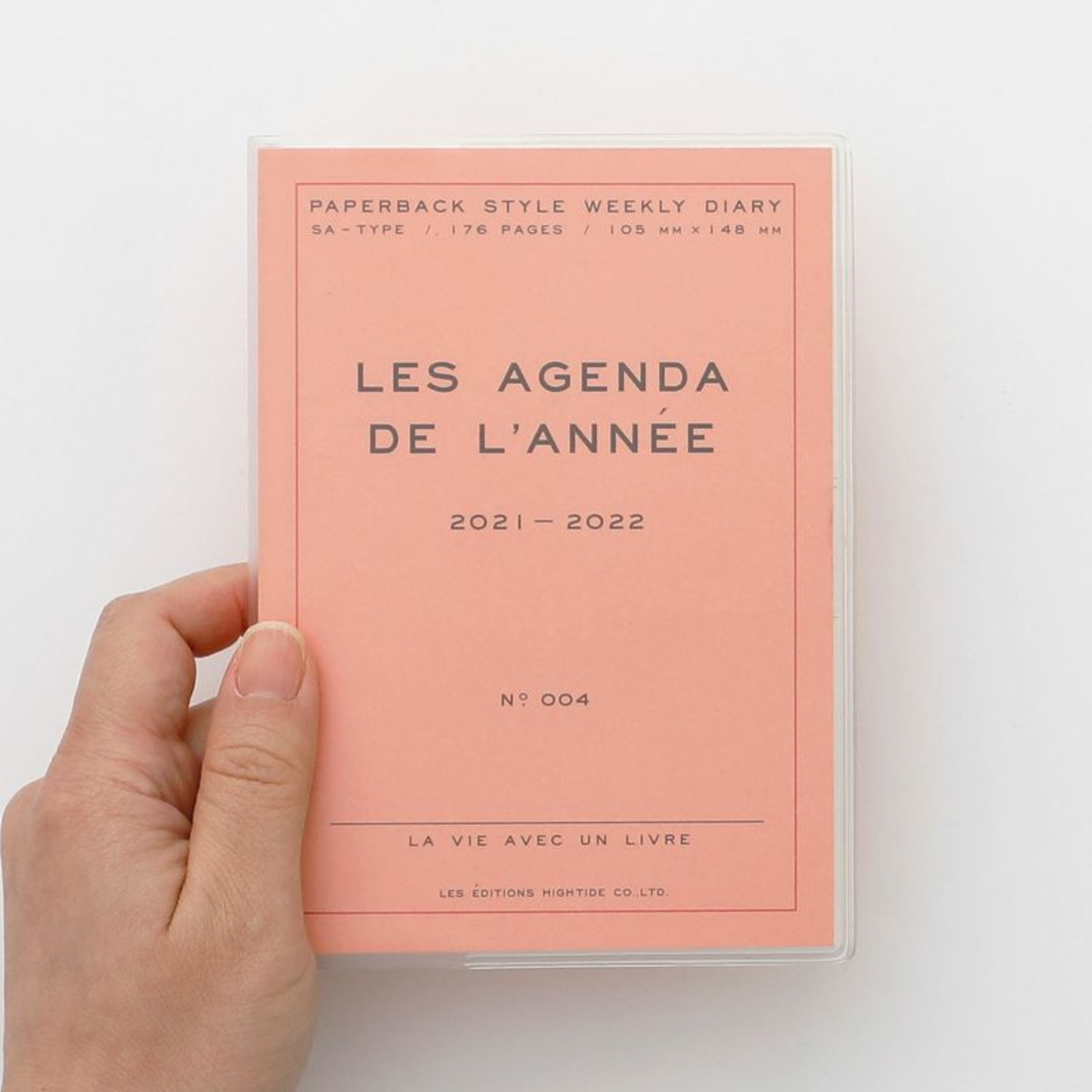 hightide / penco hightide 2022 les agenda de  l'année - pink