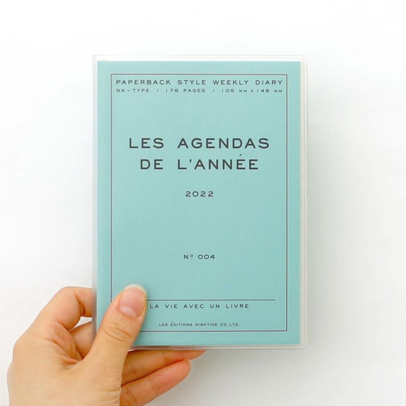hightide / penco hightide 2022 les agenda de  l'année - mint