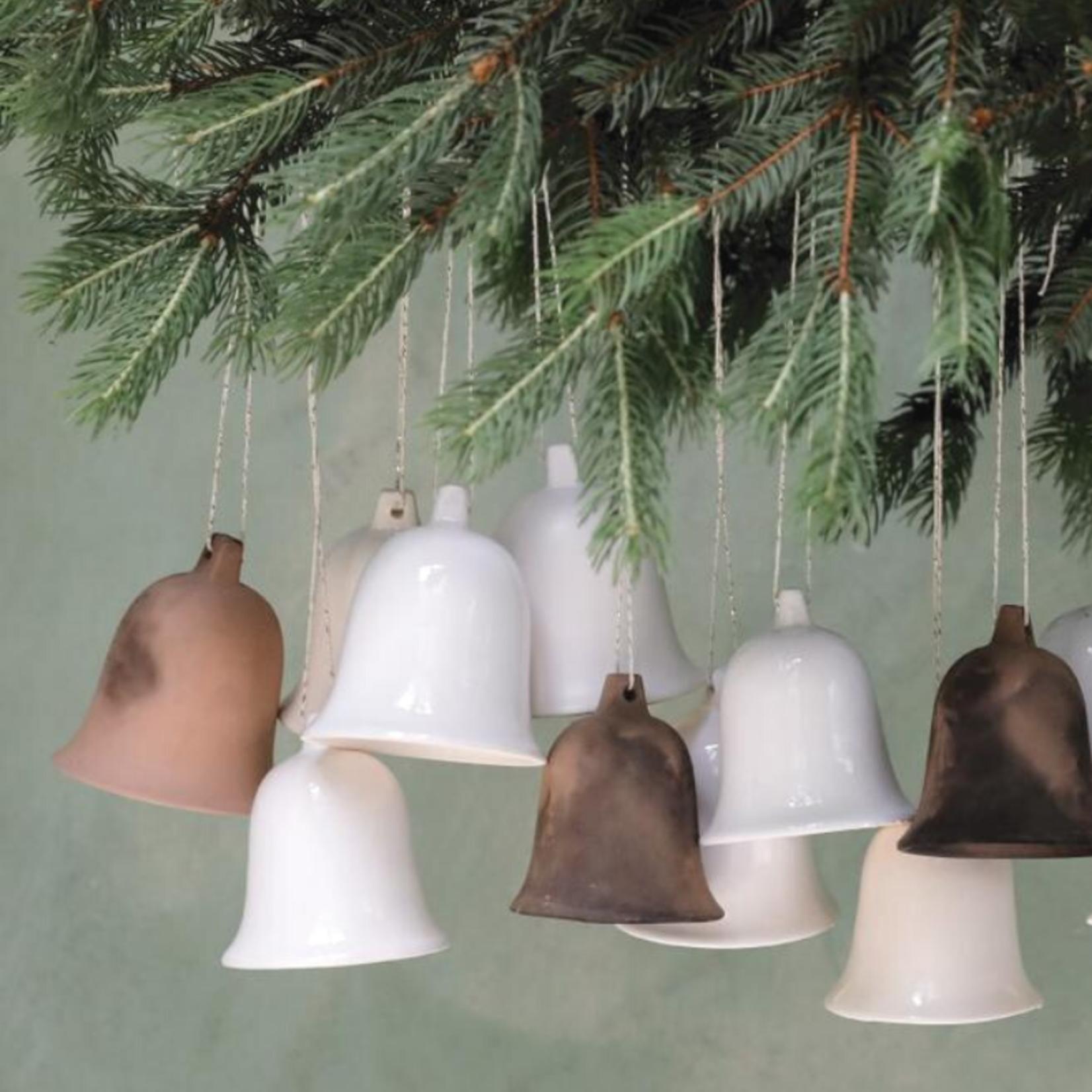 NADesign NADesign kerstklok keramiek - mat wit