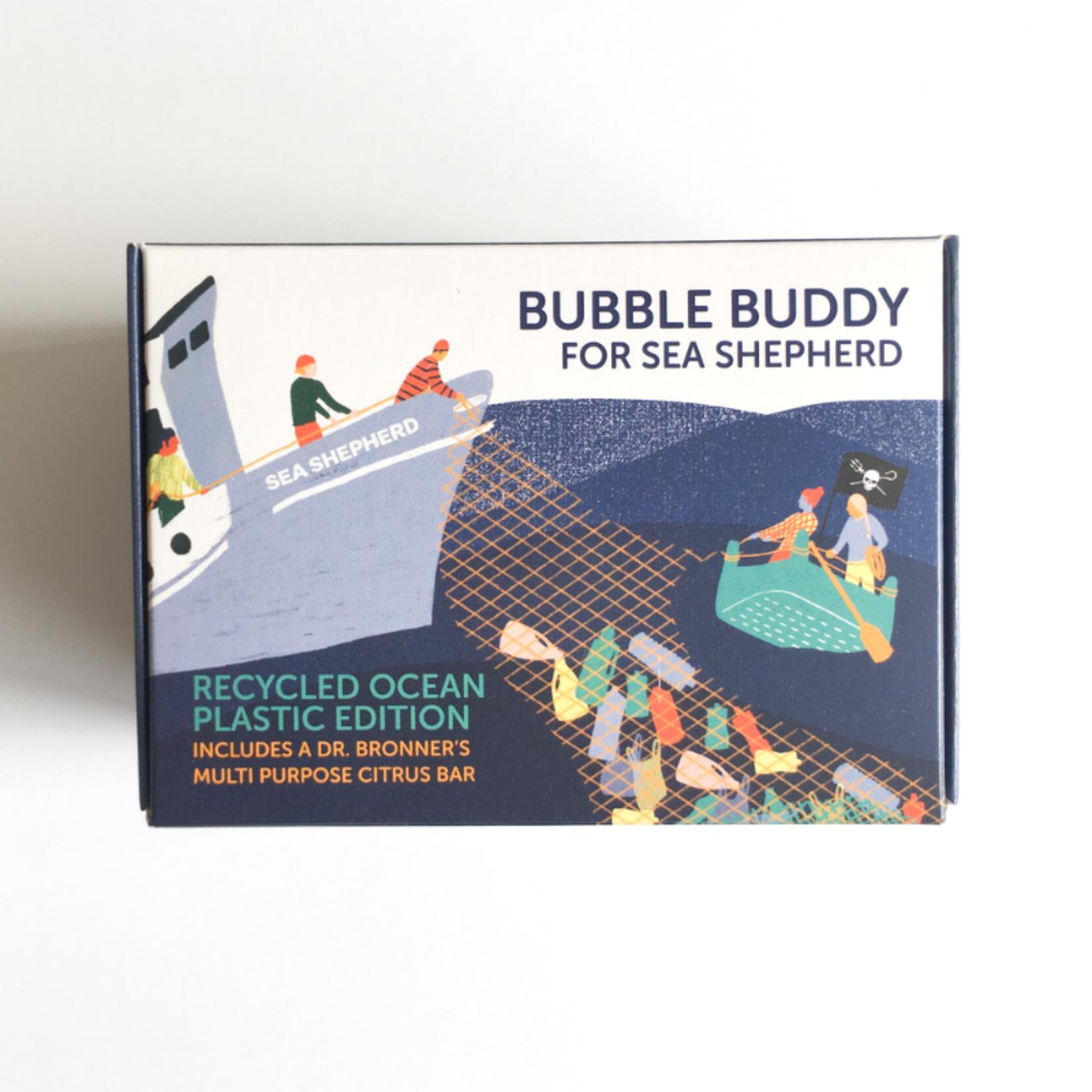 foekje fleur foekje fleur - bubble buddy - dark green ocean plastic