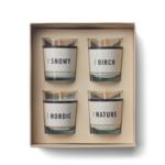 humdakin scented - clean winter - set van 4
