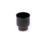 anna nera small mug ceramic -brown