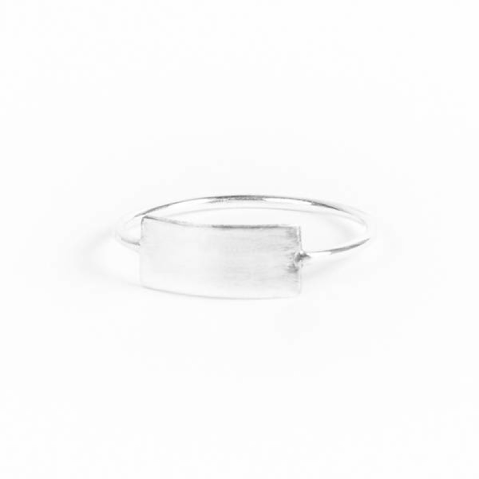 charlotte wooning ring geometry rectangle - goud