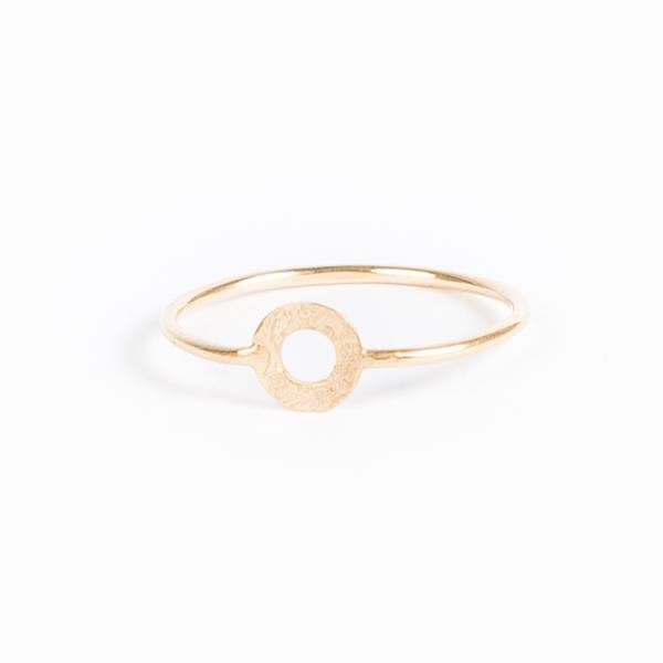 charlotte wooning ring celebration ancient round - zilver