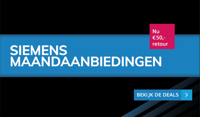 Maandaanbiedingen Siemens