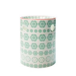 Regular Print White Petrol Leafs Wax burner-ScentBurners