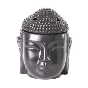 Buddha Head Black wax burner ScentBurner