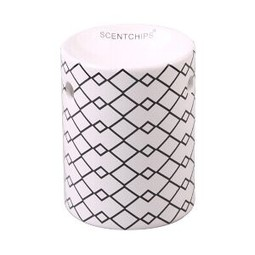 Scentchips® Black and White Oblie wax burner ScentBurner