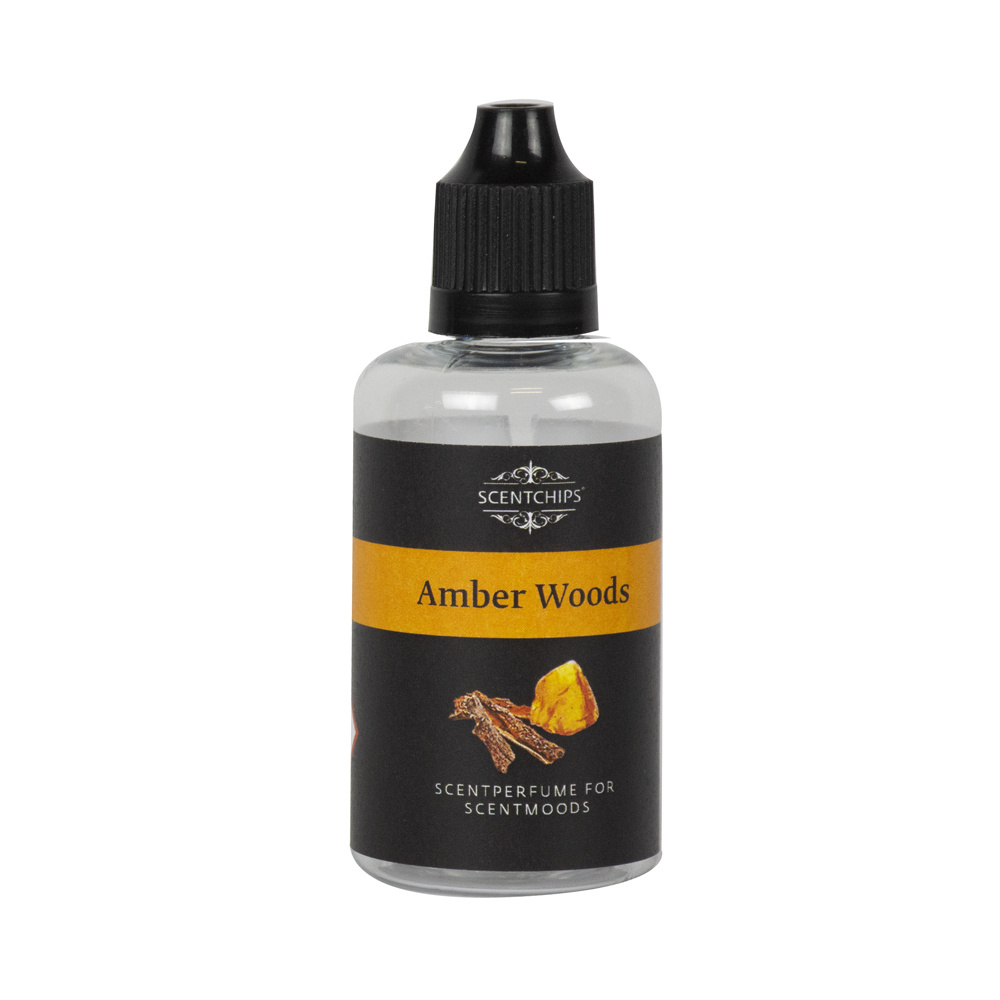 Scentchips® Amber Woods - fragrance oil for the ScentMoods fragrance machine
