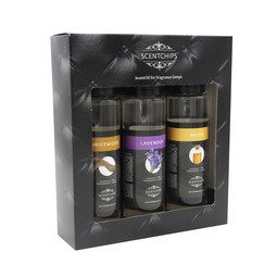 Scentchips® Giftset 3x 200ml-Driftwood-Lavender-Musk Gift set ScentGifts