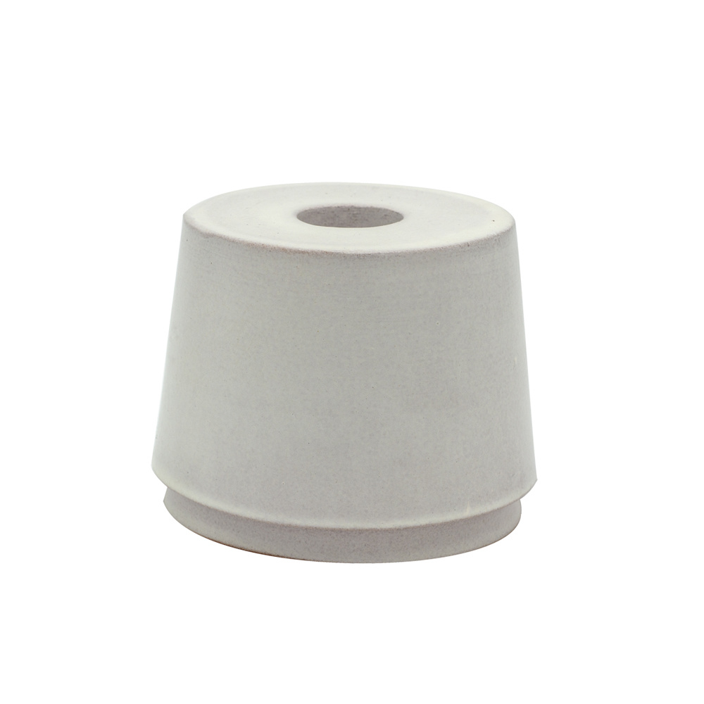 Scentchips® Candle Holder Myto Round White - Dinner Candle