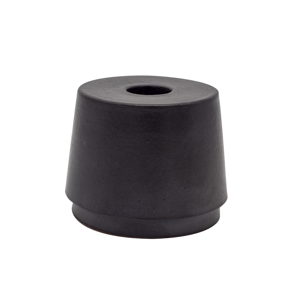 Scentchips® Candle Holder Myto Round Black - Dinner Candle
