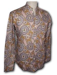 Chenaski Chenaski overhemd Mao Paisley