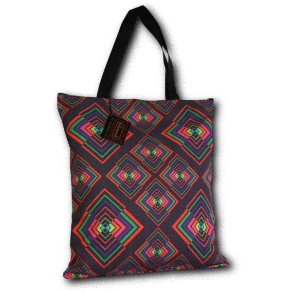 Chenaski Chenaski Tote bag - Rhombus colourful