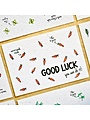 Bloom Your Message Zaaibare kaart - Good luck (wortel)