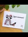 Bloom Your Message Zaaibare kaart - Joyeux Anniversaire! (bloemenmix)