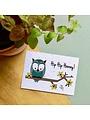 Bloom Your Message Zaaibare kaart - Hip hip hooray! (bloemenmix)