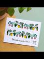 Bloom Your Message Zaaibare kaart - On récolte ce que l'on s'aime! (bloemenmix)