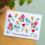 Bloom Your Message Zaaibare kaart - Tous mes vieux de bonheur! (bloemenmix)