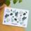 Bloom Your Message Zaaibare kaart - Grüne grüße! (bloemenmix)