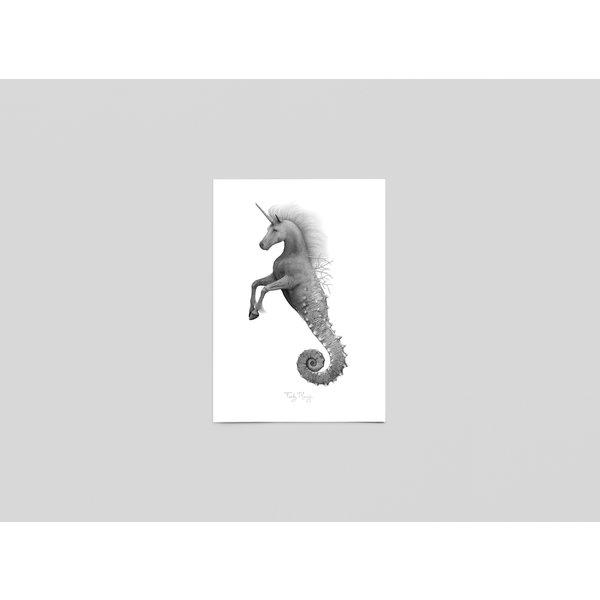 Ferdy Remijn Postkaart Seahorn - Ferdy Remijn