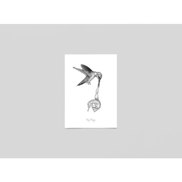 Ferdy Remijn Postkaart Lagune - de safekeeper - Ferdy Remijn
