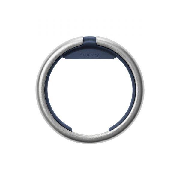 Orbitkey Orbitkey Ring (Silver) - Navy