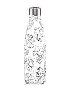 Chilly bottle Line art Leaves - 500ml