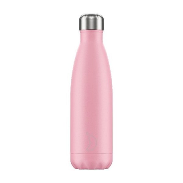 Chilly bottle Pastel roze - 500ml