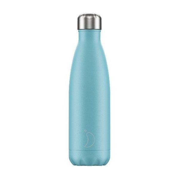Chilly bottle Pastel blauw - 500ml