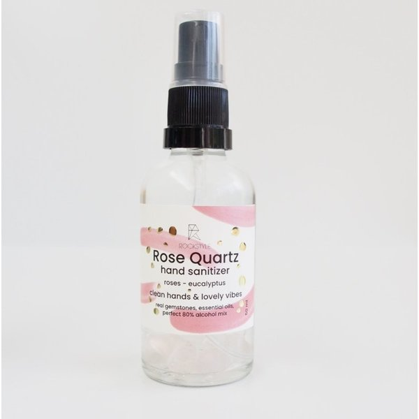 Hand Sanitizer NAVULLING!: LOVE - Rose Quartz (200ml)