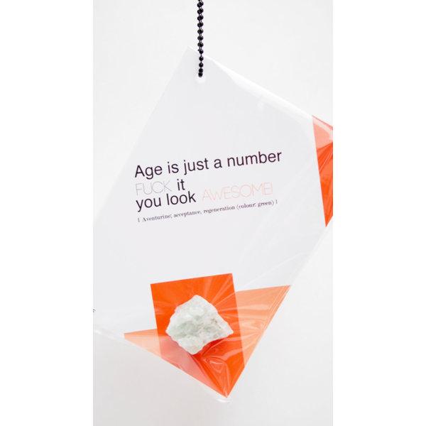 Wenskaart & Aventurijn: Fuck it, age is just a number