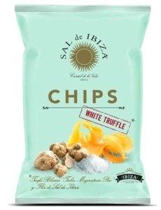 Sal de Ibiza - Chips met zeezout en Truffel - 125gr