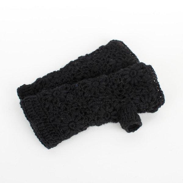 Sjaal met Verhaal Sjaal met  verhaal handwarmers zwart
