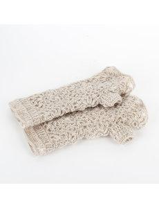 Sjaal met Verhaal Sjaal met  verhaal handwarmers crème