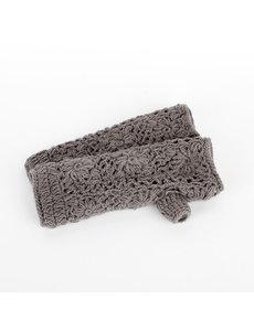 Sjaal met Verhaal Sjaal met  verhaal handwarmers grijs