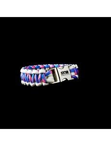 Stoer Armbanden STOER Paracord armband Transgender