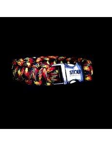 Stoer Armbanden STOER Paracord armband Belgisch trots / Deutsche Stolz