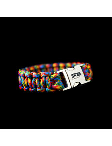 Stoer Armbanden STOER Paracord armband Autisme Awareness