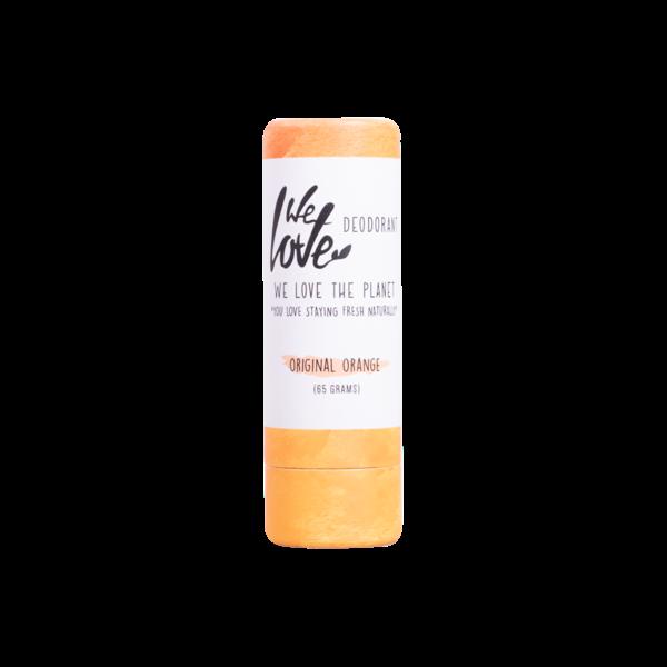 We Love The Planet Natuurlijke deodorant stick – Original Orange