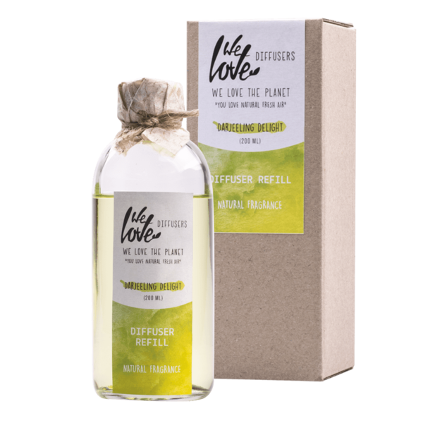 We Love The Planet Navulfles diffuser - Darjeeling Delight - 200ml