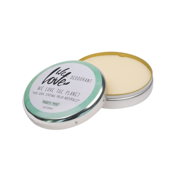 We Love The Planet Natuurlijke deodorant Mighty Mint