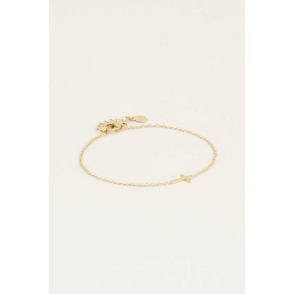My Jewellery My Jewellery Armband klein kruisje