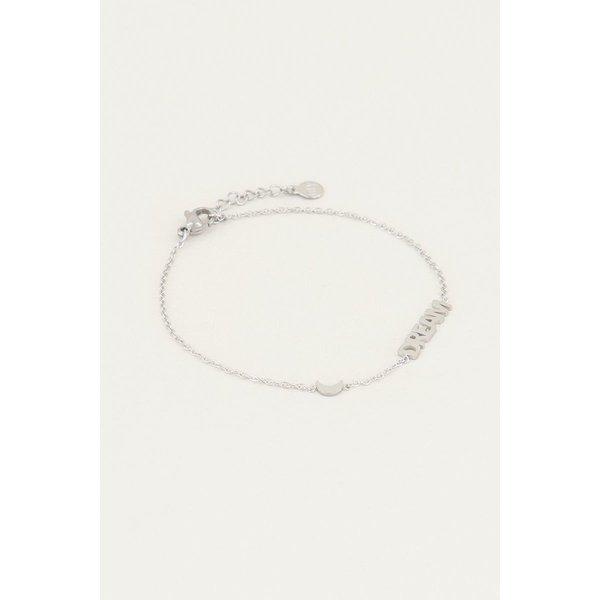 My Jewellery My Jewellery Armband met dream en maantje