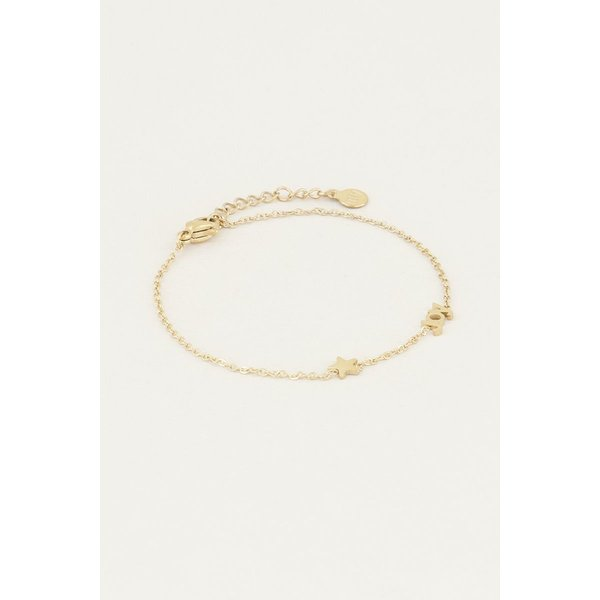 My Jewellery My Jewellery Armband met Joy en ster