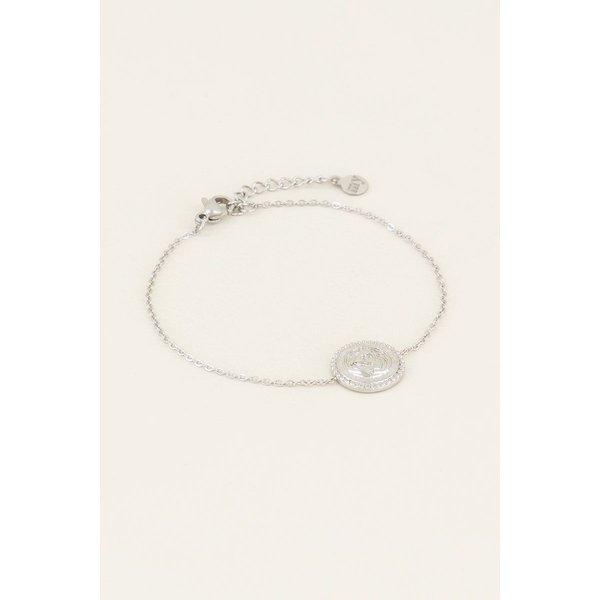 My Jewellery My Jewellery Armband met wereldbol