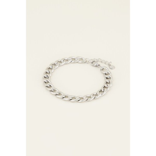 My Jewellery My Jewellery Armband platte schakels