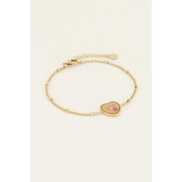 My Jewellery My Jewellery Armband wildflower hartje