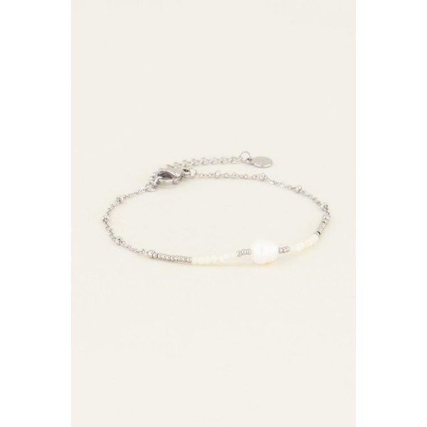 My Jewellery My Jewellery Armbandje kralen & parel